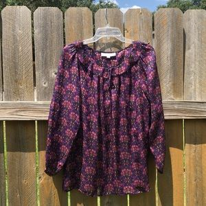 Ann Taylor Loft Women's L/S blouse